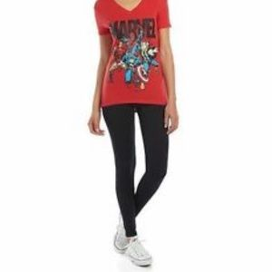New Marvel Graphic tee and legging set